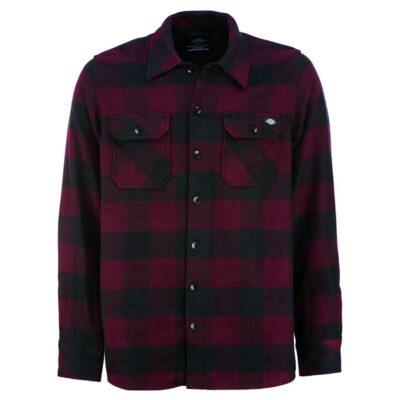 Dickies - Sacramento Shirt - Maroon