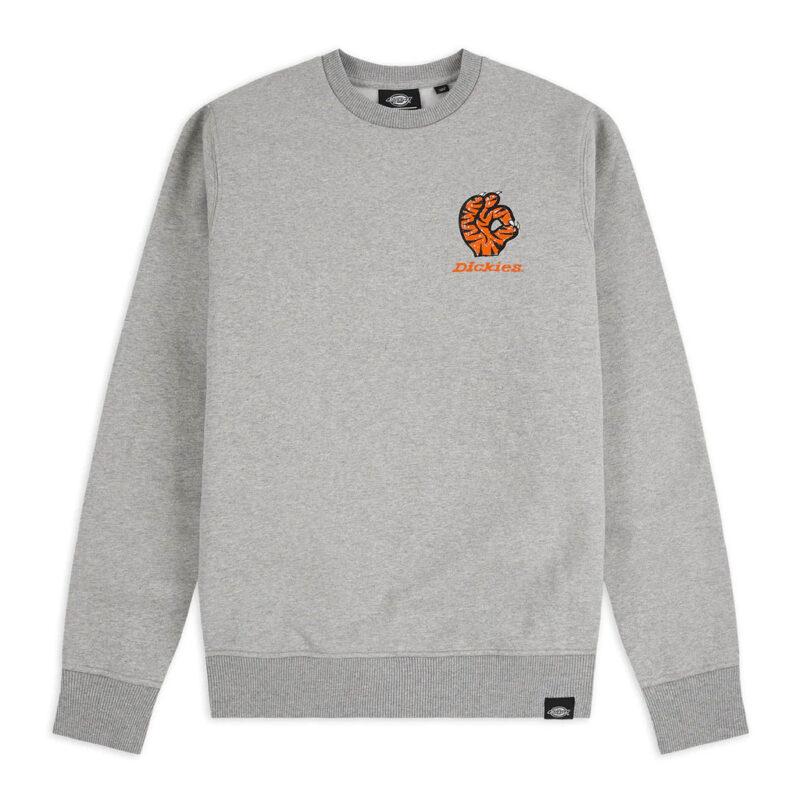 Dickies - Schriever Sweatshirt - Grey Melange