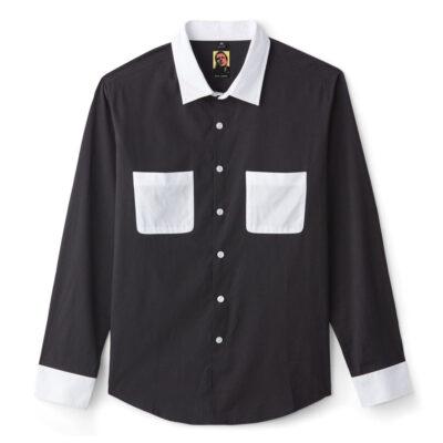 Brixton - Strummer Graham Woven Shirt - Black/White