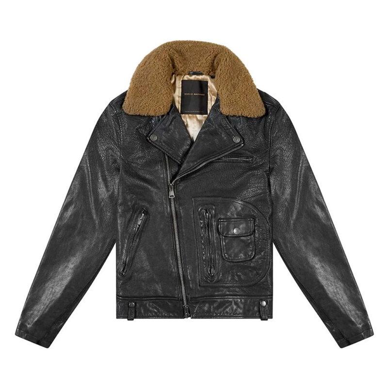 Deus Ex Machina - The Nail Leather Jacket - Black