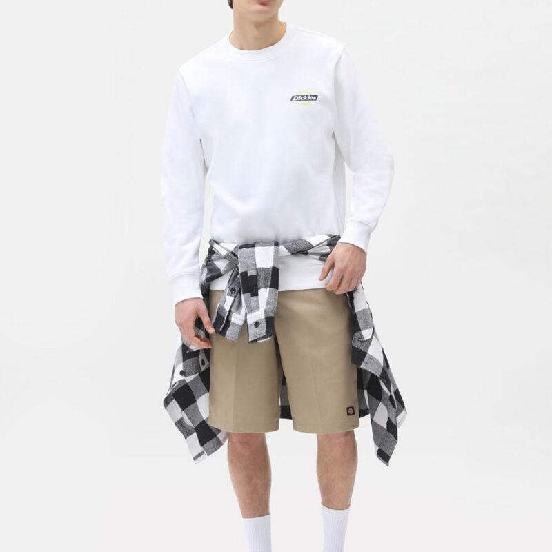 Dickies - Ruston Sweatshirt - White