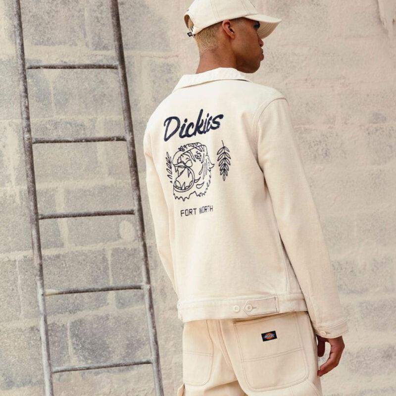 Dickies - Halma Eisenhower Jacket - Ecru