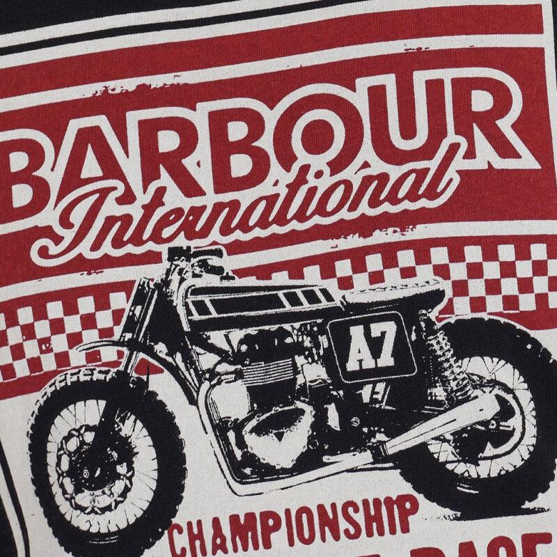 Barbour International - Legendary A7 Tee - Black