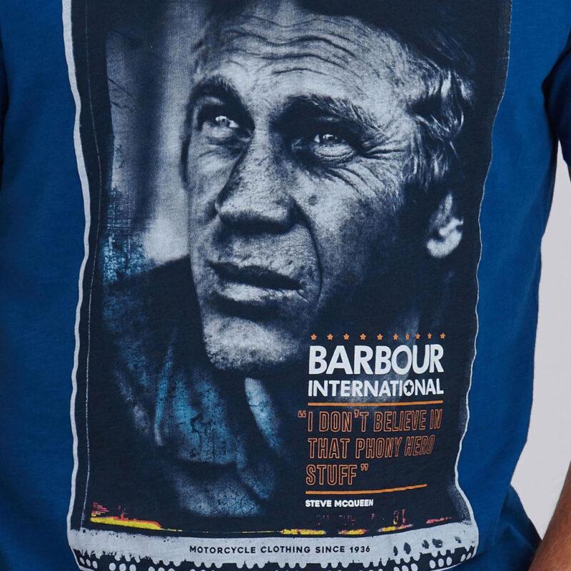 Barbour International - Hero Tee - Dark Petrol