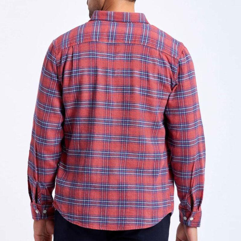 Brixton - Bowery Shirt - Cowhide