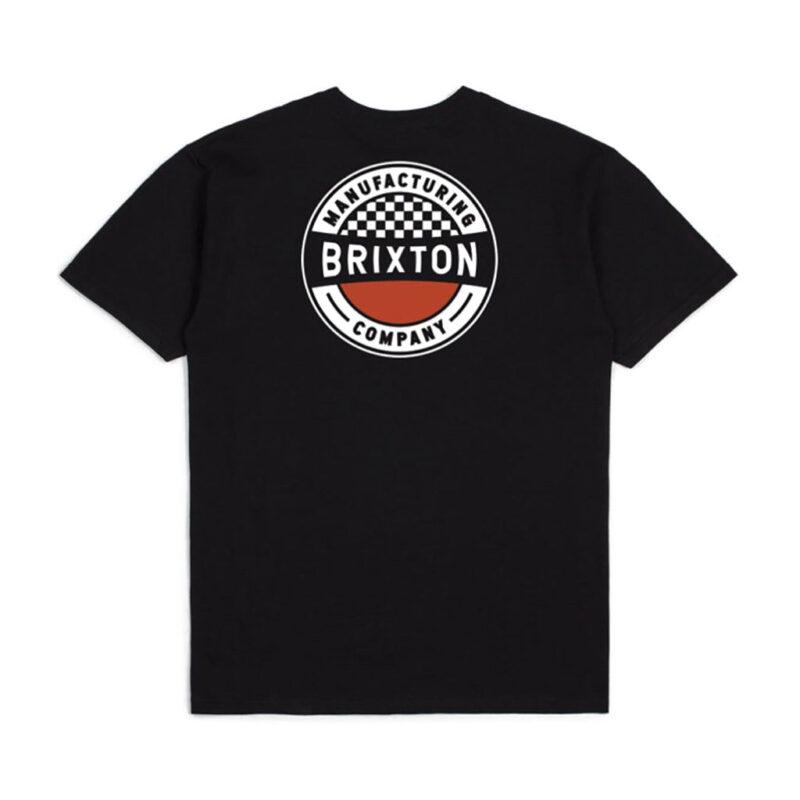 Brixton - Terminal Tee - Worn Wash Black