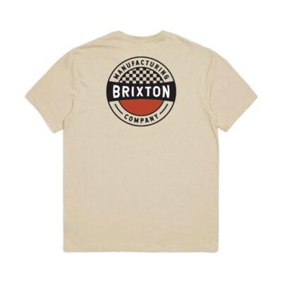 Brixton - Terminal Tee - Worn Wash Cream