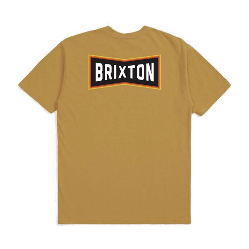 Brixton - Truss Tee - Antique Gold