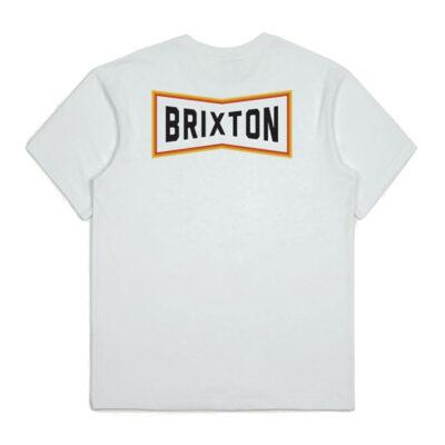 Brixton - Truss Tee - White