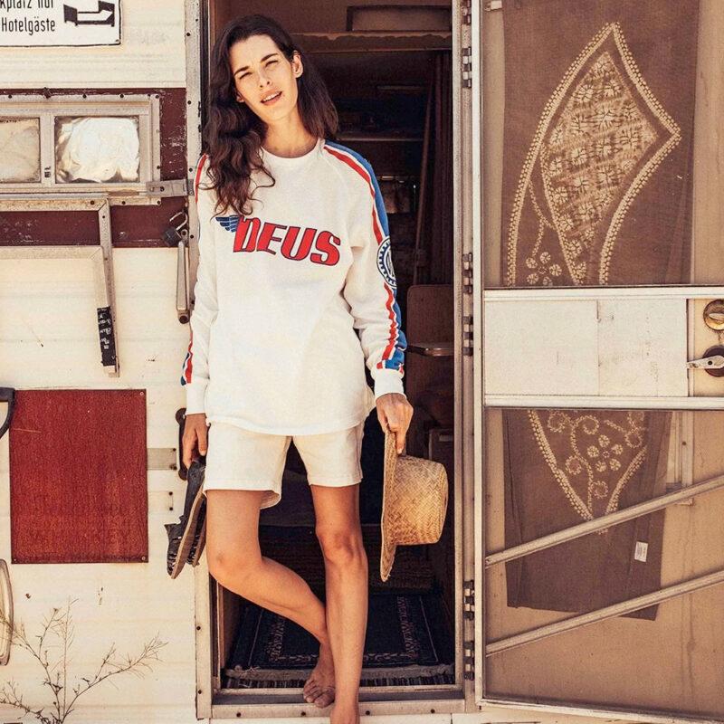 Deus Ex Machina - Chucks Moto Jersey - Tricolour