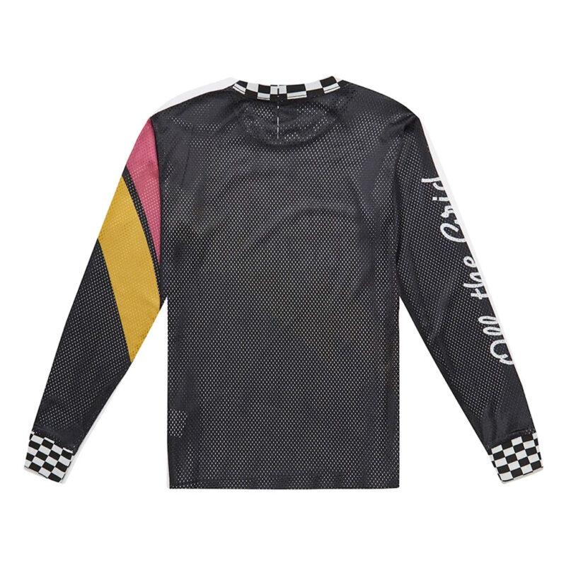 Deus Ex Machina - Curlewis Moto Jersey - Black