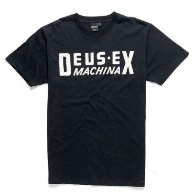 Deus Ex Machina - DX Box Tee - Black