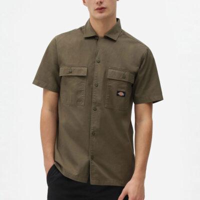 Dickies - Paynesville Shirt - Military Green