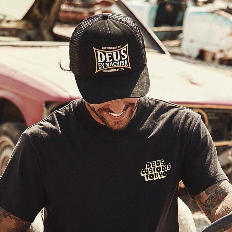 Deus Ex Machina - Twinbox Trucker - Black