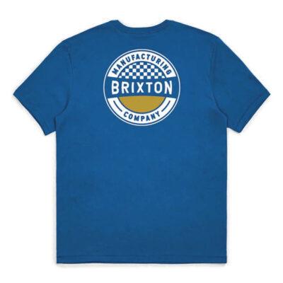 Brixton - Terminal Tee - Worn Wash Royal