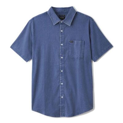 Brixton - Charter Oxford Shirt - Joe Blue Sun Wash