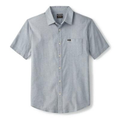 Brixton - Charter Oxford Shirt - Light Blue Chambray