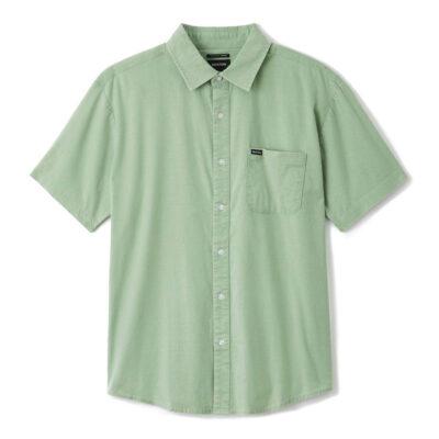 Brixton - Charter Oxford Shirt - Turf Green Sun Wash