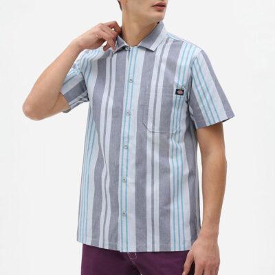 Dickies - Grove City Shirt - Fog Blue