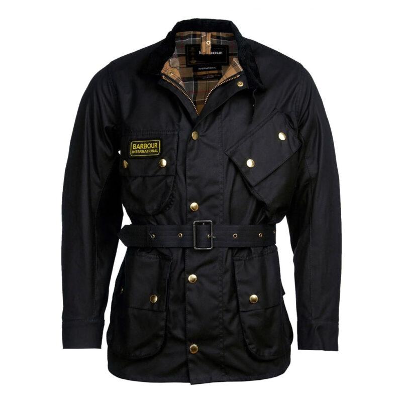 Barbour International - Original Wax Jacket - Black