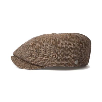 Brixton - Brood Snap Cap - Brown/Khaki