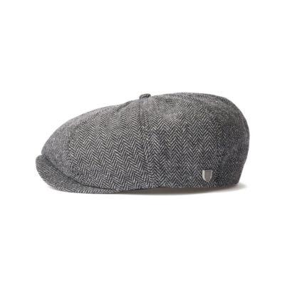 Brixton - Brood Snap Cap - Grey/Black