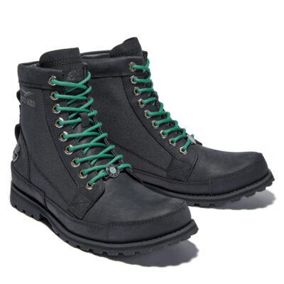 Timberland - Moto Guzzi Original Leather Boot - Jet Black