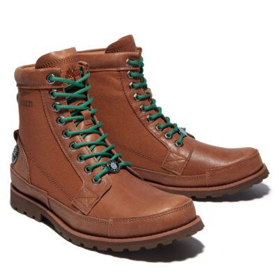 Timberland - Moto Guzzi Original Leather Boot - Saddle