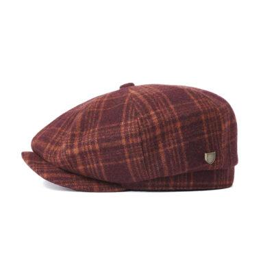 Brixton - Brood Baggy Snap Cap - Crimson