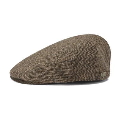 Brixton - Hooligan Snap Cap - Brown/Khaki